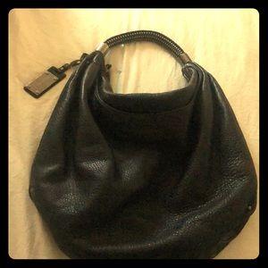 Black studded handle Kenneth Cole purse